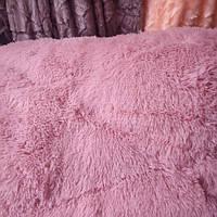 Меховое одеяло мишка,розовое, евро размер