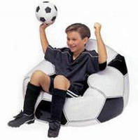Надувное кресло Футбольный мяч (до 100кг)
