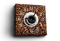ЧАСЫ-картина  COFFEE TIME