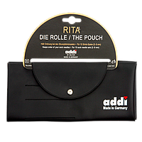 Чехол для 10 комплектов чулочных спиц Addi