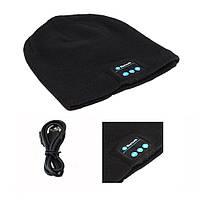 Зимняя шапка со Bluetooth-гарнитурой Серая