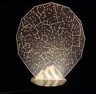 Светильник Оптический обман звездного неба