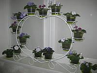 """Подставка для цветов на 13 чаш """"Сердце-4"""", фото 1"""