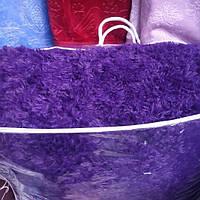 Одеяло мишка зима.евро размер фиолетовое