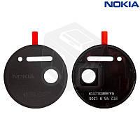 Стекло камеры для Nokia Lumia 1020, оригинал, черное