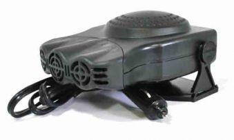 Тепловентилятор автомобильный King HF 384 12В. Обдув стекла