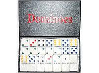 Домино в картонной коробке i5-39, домино настольная игра, игра домино, настольное домино