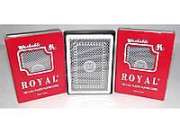 Игральные карты с пластиковым покрытием Royal I5-24, колода игральных карт, пластиковая колода карт