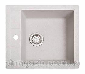 Мойка кухонная Solid Бриз, белый (ДхШхГ-515х460х200)