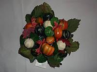 Венок из искусственных цветов