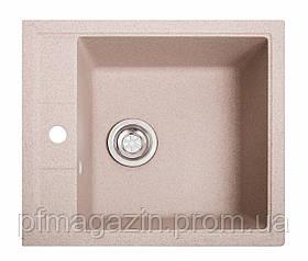 Мойка кухонная Solid Бриз, розовый (ДхШхГ-515х460х200)