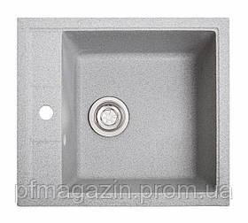 Мойка кухонная Solid Бриз, серый (ДхШхГ-515х460х200)