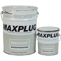 Maxplug - гидравлический цемент для остановки воды под напором