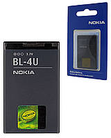 Аккумулятор для Nokia 8800 Carbon Arte, аккумуляторная батарея АКБ Nok BL-4U ориг