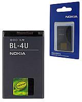 Аккумулятор для Nokia 8800 Sapphire Arte, аккумуляторная батарея АКБ Nok BL-4U ориг
