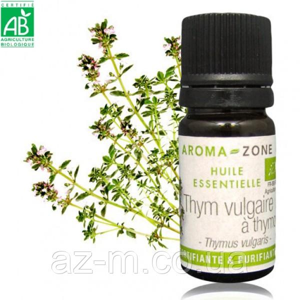 Тимьян тимольный (Thym thymol) BIO эфирное масло, 5 мл