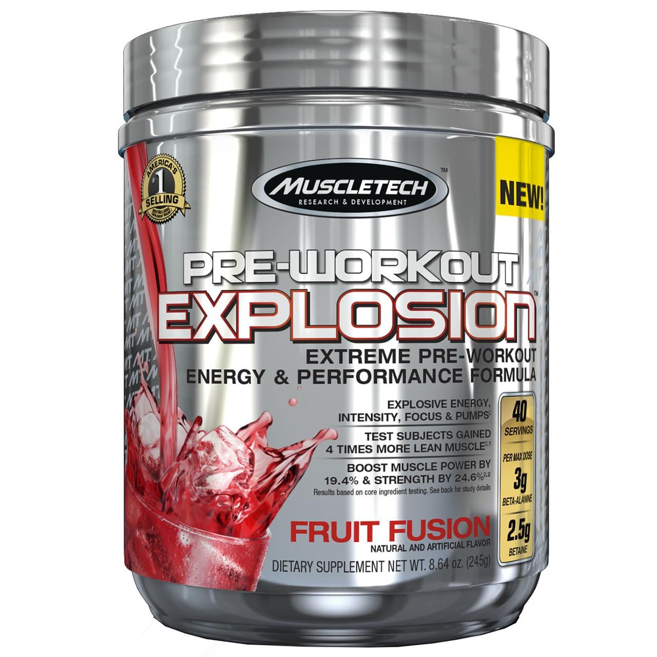 MuscleTech PRE-WORKOUT EXPLOSION 40serv