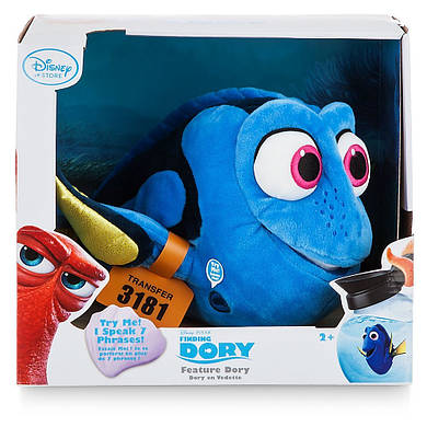 ДИСНЕЙ говорящая плюшевая рыбка ДОРИ 35 см из мф В ПОИСКАХ ДОРИ / Finding Dory Disney