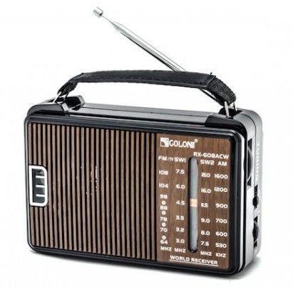 Портативные колонки Мр3 в виде радиоприемников