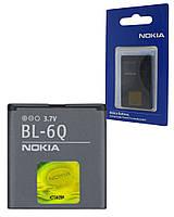 Аккумулятор для Nokia 6700 classic, аккумуляторная батарея АКБ Nok BL-6Q Orig