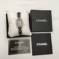 Часы Chanel керамика черные реплика