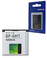 Аккумулятор для Nokia N81, аккумуляторная батарея АКБ Nok BP-6MT ориг