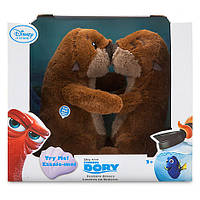 ДИСНЕЙ интерактивные морские выдры обнимашки из мф В ПОИСКАХ ДОРИ / Otters Finding Dory Disney