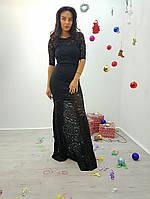 Женское вечернее платье + болеро