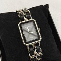 Часы Chanel черные реплика