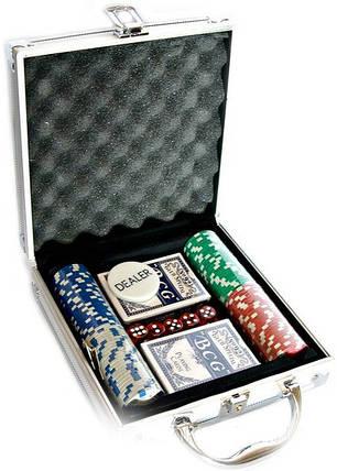 Покерный набор в кейсе №100, фото 2
