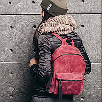 Рюкзак гранатового цвета, фото 1