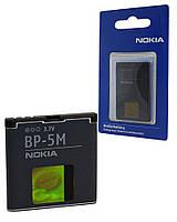 Аккумулятор для Nokia 5700 Xpress Music, аккумуляторная батарея АКБ Nok BP-5М ориг