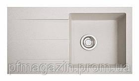 Мойка кухонная Solid Квадро, серый (ДхШхГ-780х435х160)
