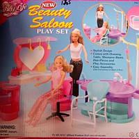 Парикмахерская для кукол Барби