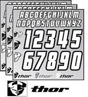 Набор наклеек для джерси THOR ID S7