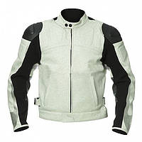 Мотокуртка Puma Leather Jacket белая, 54
