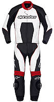 "Комбинезон Alpinestars CARVER  black\white\red кожа ""48"", арт. 3165512 123, арт. 3165512 123"