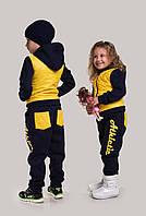Костюм девочка+мальчик  на флисе