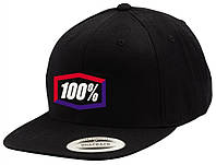 """Кепка Ride 100% """"Corpo"""" Classic SnapBack Hat Black/Blue/Red, One Size"""