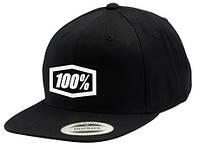 "Кепка Ride 100% ""Corpo"" Classic SnapBack Hat Black/White, One Size"
