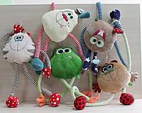 Мягкие игрушки длинноножки перетяжки тм Левеня Лягушка