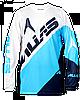Джерси Alias A2 BLOCKED WHITE/BLUE L