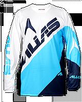 Джерси Alias A2 BLOCKED WHITE/BLUE L (шт.)