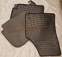 Коврики в салон резиновые Stingray 4шт. для Dacia Sandero 2007-2013