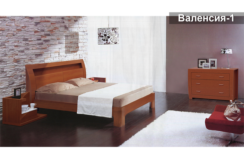 Кровать Валенсия-1