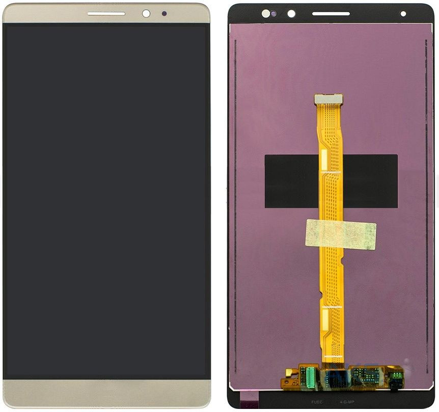 Дисплей (экран) для телефона Huawei Mate 8 NXT-L09, NXT-L29A + Touchscreen Original Gold