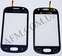 Сенсор (Touch screen) Samsung S6810 синий