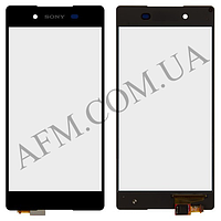 Сенсор (Touch screen) Sony E6553 Xperia Z3+,   Xperia Z4 чёрный оригинал