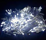 Гирлянда 540 светодиодов силиконовый шнур Белый, фото 2