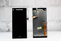 Дисплей для HTC C620e Windows Phone 8X + touchscreen, чёрный